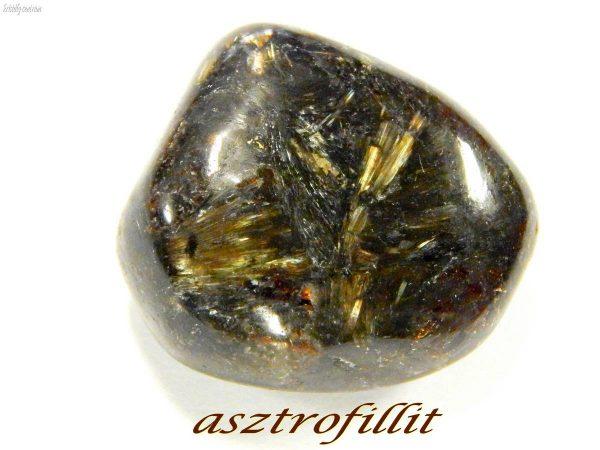 Asztrofillit csiszolat