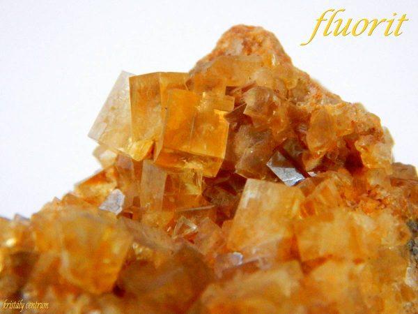 Fluorit kristálytelep