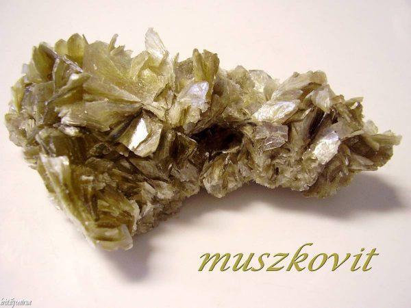 Muszkovit kristályok Brazília