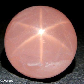 Csillag rózsakvarc gömb
